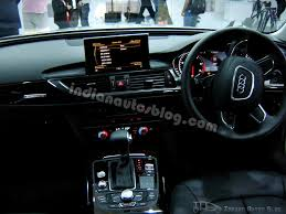 audi a6 india audi a6 india interiors indian autos