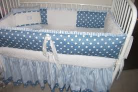 Mini Crib Bedding Sets For Boys by Blue Crib Bumper Pads Creative Ideas Of Baby Cribs