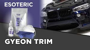 roll royce medan gyeon trim coating review esoteric car care youtube