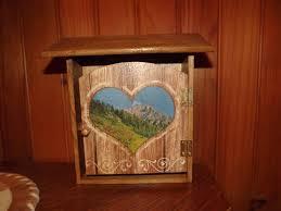 Meuble Style Montagne Boîte Pour Rangement Des Clés Style Montagne Meubles Et