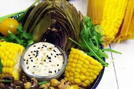 cuisine artichaut recette salade à l artichaut et épi de maïs cuisine