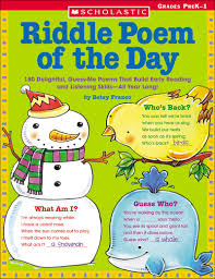 thanksgiving riddle building language for literacy teaching guide scholastic