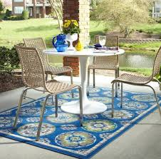 Yellow Outdoor Rug Outdoor Garden Astonishing Blue Geometric Outdoor Rug For Patio