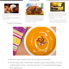 read this flavour filled plan your thanksgiving dinner menu