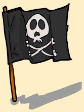 how to make your own jolly roger flag easy steps for kids http