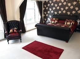 red and brown bedroom ideas black and red bedroom designs ideas to decorate your bedroom with