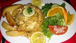 cuisine a base de poulet un plat à base de poulet mariné au citron photo de fils du soleil