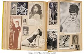 large scrapbook gardner 1940s scrapbook titled clippings of the 1940 s