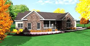 ranch style house plans with front porch home design ideas