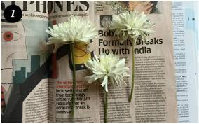 Drying Flowers In Books - diy u2013 pressed flower frames idiva