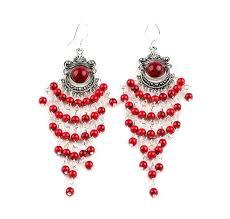 Red Chandelier Earrings Red Chandelier Earrings Chandelier Gallery