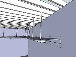 garage storage attaching to engineered beams general diy