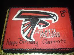 atlanta falcons birthday cake the amazing cakes bakery