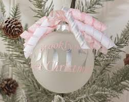 personalized baby christmas ornament sale personalized christmas ornament wooden bell