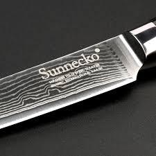 razor sharp kitchen knives aliexpress com buy sunnecko 5 inch damascus utility knife