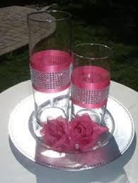 Bling Wrap For Vases Royal Blue Glitter Vase Royal Blue Theme Wedding Centerpieces