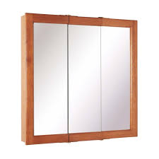 Cabinets For Bathroom Bathroom Natural Wood Frame Mirrored Medicine Cabinets For