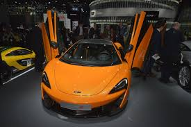 orange mclaren interior mclaren 570s priced from 184 900 in the us cheaper 540c confirmed