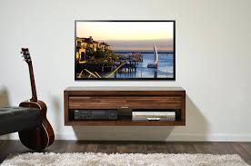 tv stand floating tv stand eco geo mocha tv media stand console
