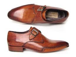 light brown monk strap shoes paul parkman light brown monkstrap shoes id 24y56 tie this