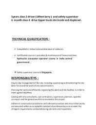 ambulette driver cover letter