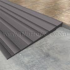 high quality rubber r bridge creates a smooth transition
