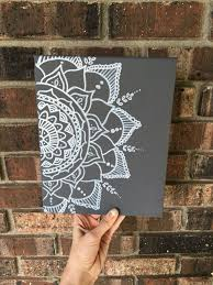 Canvas Home Decor Best 25 Henna Canvas Ideas On Pinterest Henna Paint Mandela