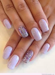 trendy purple nail art designs purple glitter nails purple