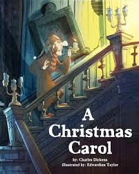 dickens a carol book cover design edwardian
