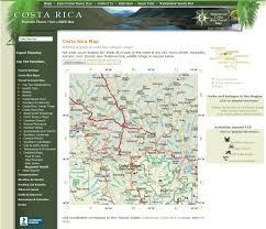 Map From Search Locations On The Map Of Costa Rica