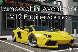lamborghini engine lamborghini aventador v12 engine sound gta5 mods com