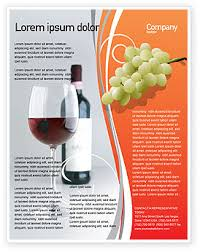 wine brochure template inviting you to a dinner bottle of wine flyer template http www