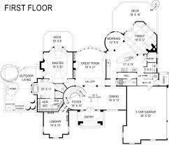di medici place castle house plan luxury house plan