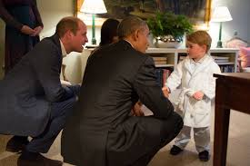 the obama s prince george bathrobe from meeting obamas is sold out money