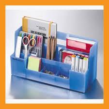Desk Organizer Box Desk Organizer Office Workspace Storage Box Accessory Caddy Stand Tray