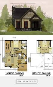 tiny cottages plans micro cabin plans barn house with loft small cottage two bedroom