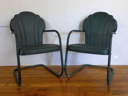 Patio Steel Chairs by Chair Furniture Exclusive Aqua Retro Porch Glider Design Wood