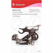 singer ruffler attachment presser foot for low shank sewing