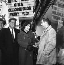 john f kennedy campaigning in nashua new hampshire repinned by