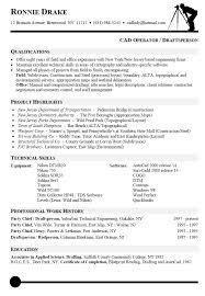 Computer Operator Resume Sample by Download Cad Engineer Sample Resume Haadyaooverbayresort Com
