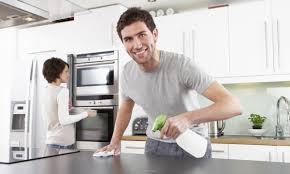 nettoyer la cuisine comment choisir et nettoyer un comptoir de cuisine trucs pratiques