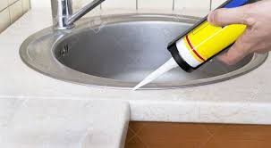 backsplash sealing kitchen sink how to install a stainless steel plumber putting a silicone sealant to installing kitchen sink sealing pipes undermount sink full