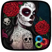 Dia De Los Muertos Pictures Dia De Los Muertos Go Launcher Android Apps On Google Play