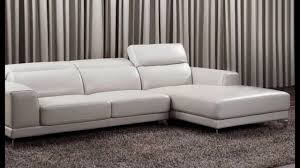 Leather Corner Sofa Beds by Small Leather Corner Sofas Youtube