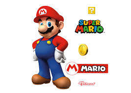 mario fathead jr wall decal shop fathead for mario wall graphics mario fathead jr wall decal