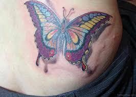 50 butterfly tattoos on waist