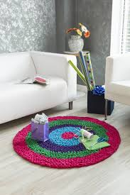 premier yarns craft tee rug crochet pattern crochet