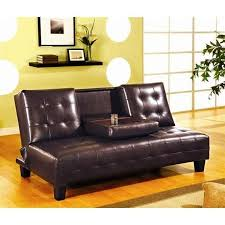 Convertible Leather Sofa by Rome Faux Leather Convertible Futon Sofa Bed And Chair Value