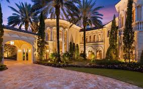 Florida Mediterranean Style Homes - 17 000 square foot mediterranean style mansion in jupiter fl