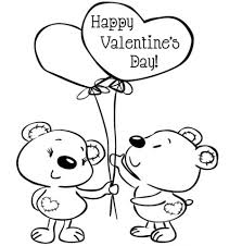 kids valentine coloring pages valentine coloring pages of